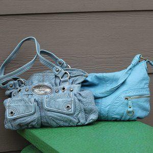 2 Kathy Van Zeeland purses.